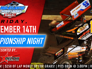 DELPHI DEMOLITION JOINS AS CHAMPIONSHIP NIGHT RACE SPONSOR FRIDAY, SEPTEMBER 14TH AT GRANDVIEW SPEED