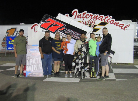 Geiges wins at Delaware International Speedway-Results