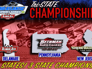 MID-ATLANTIC SPRINT SERIES INTRODUCES TRI-STATE CHAMPIONSHIP POINTS SERIES