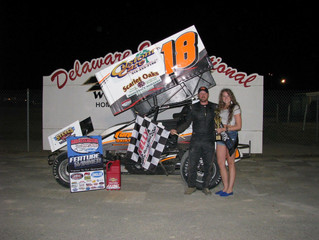 TANNER CAPITALIZES ON DARLING'S MISFORTUNE TO WIN INAUGURAL MASS EVENT AT DELAWARE INTERNATIONAL