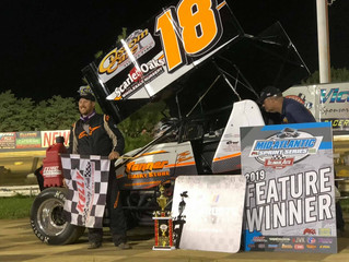 TANNER SWEEPS SECOND WIN OF 2019 AT NEW EGYPT SPEEDWAY