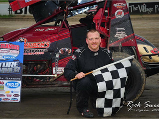 RICK STIEF MASTERS THE FIELD TO WIN FIRST EVER MID-ATLANTIC SPRINT SERIES EVENT