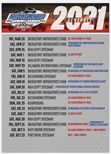 Updated Schedule
