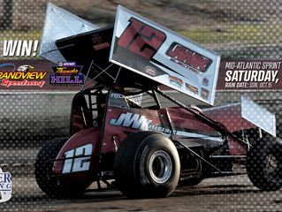 FREIBERGER EXCAVATING BRINGS EXTRA RUMBLE FOR OPEN INVITATION MID-ATLANTIC SPRINT SERIES THUNDER ON