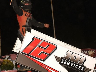 JOE KAY LANDS FIRST CAREER SPRINT CAR FEATURE WIN AT GRANDVIEW SPEEDWAY