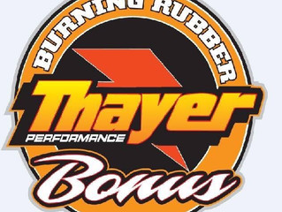 THAYER PERFORMANCE BRINGS ¨BURNING RUBBER¨ BONUS TO MID-ATLANTIC SPRINT SERIES; TEN HOOSIER RIGHT RE
