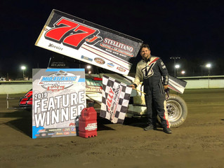 Geiges Third Win of the Season at  Bridgeport 5/8 Mile - Results