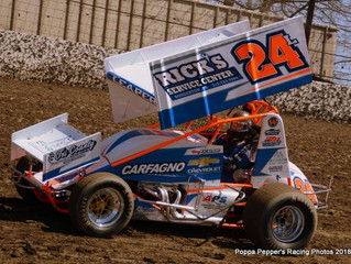 SIXTEEN-YEAR-OLD DAN LEAPER LOOKS TO GET ROOKIE SEASON UNDERWAY AT NEW EGYPT SPEEDWAY WITH THE MID-A