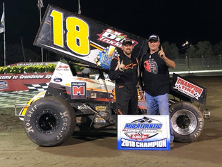 Tim Tanner Jr. is the Mid-Atlantic Sprint Series Champion