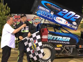 Mark Bitner Wins New Egypt Speedway -Results