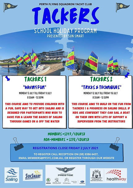 Tackers School Holiday Program - July 20