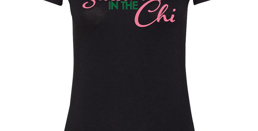 sisterhood in the chi   basic tees