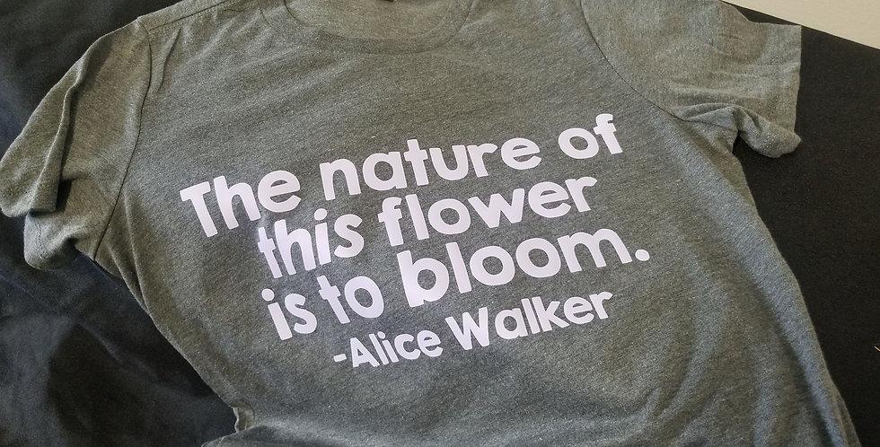Tee | Bloom, Alice Walker