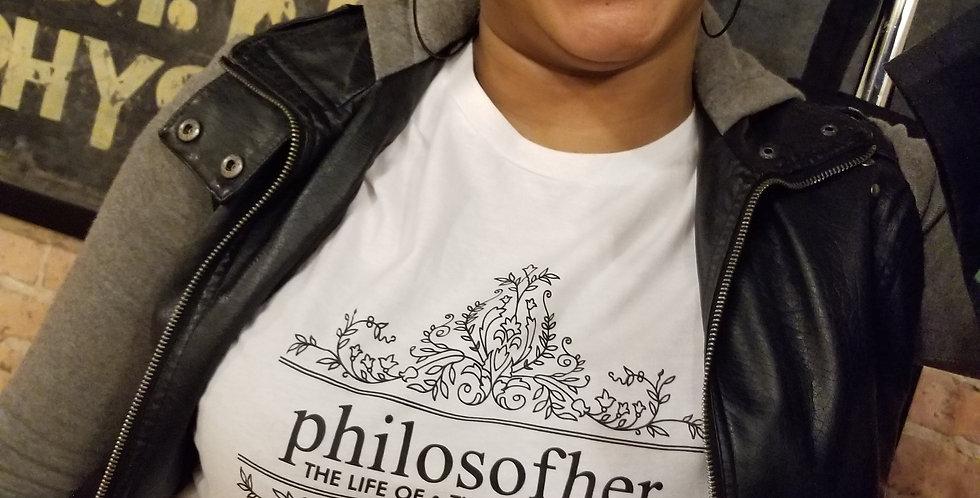 Tee | philosofher fleur de logo
