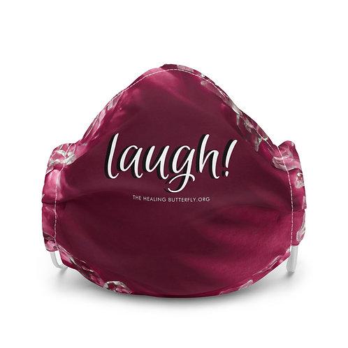 Laugh Violet Premium Face Mask