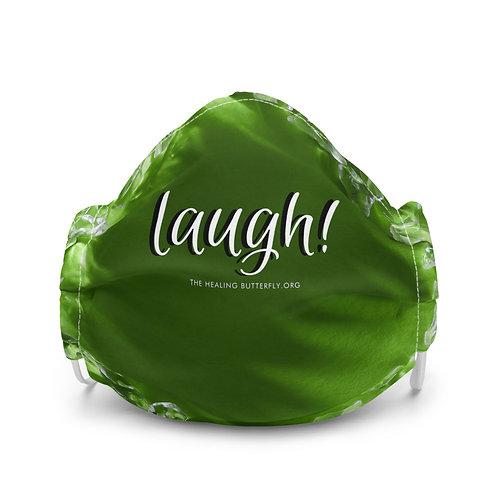 Laugh Lime Premium Face Mask
