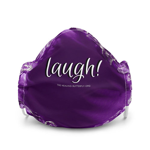 Laugh Amethyst Premium face mask