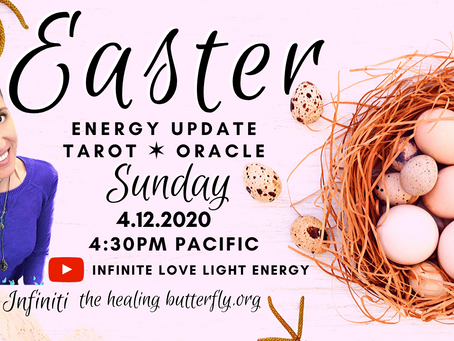 LIVE On Easter: Energy Update, Guided Astral Meditation, Tarot & Oracle Readings