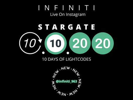 Liftoff 10.10.2020 The October Libra Stargate!10 Days of Timeline Shifts-Infiniti Live On Instagram