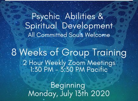 Soul Code Ascension Coaching and Psychic & Spiritual Development Training!