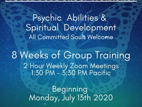 Soul Code Ascension Coaching and Psychic & Spiritual Development Training!
