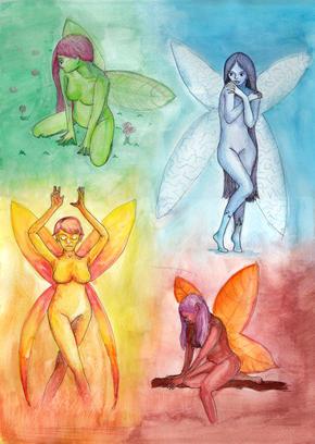 Seasonal Fairies
