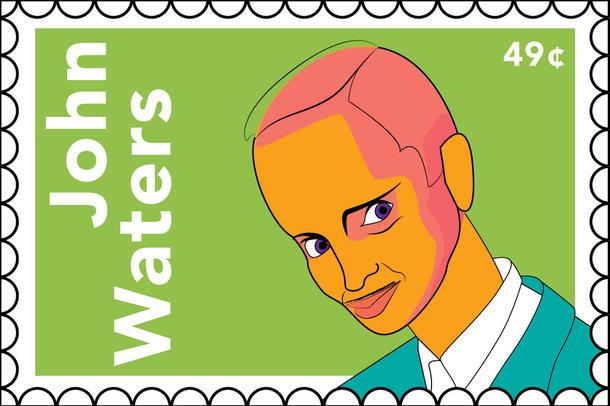John Waters stamp