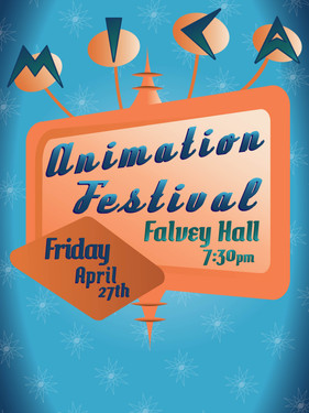 MICA Animation Festival poster submission