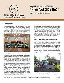 Trại hè Thanh Thiếu Niên tại TVPM Jun 20