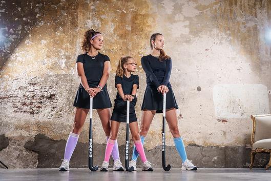 Duurzame hockeysokken, gemaakt van duurzaam materiaal voor vrouwen en kinderen
