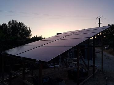 panneaux solaire 3000w en site isolé
