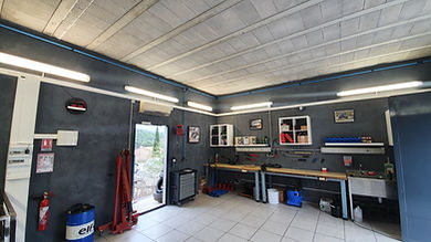 eclairage de garage