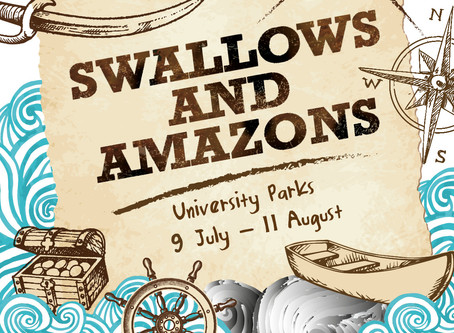 'Swallows & Amazons'- Open air theatre for summer