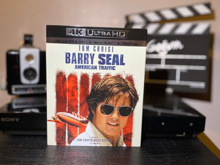 Test Blu-ray 4K : Barry Seal: American Traffic