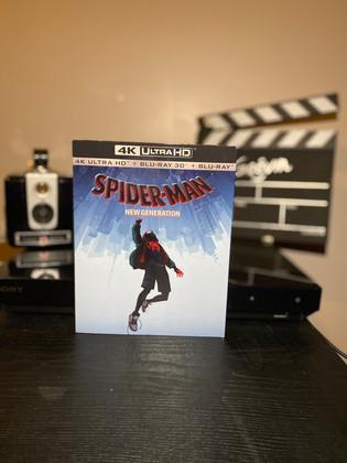 Test Blu-ray 4K : Spider-Man: New Generation