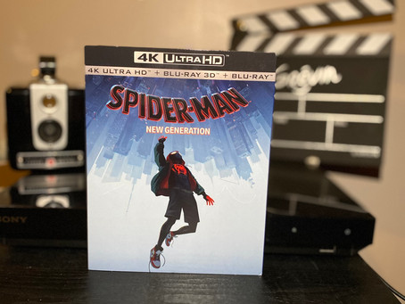 Test Blu-ray 4K : Spider-Man: New Generation