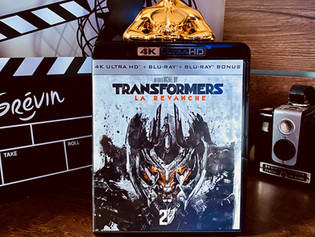 Test Blu-ray 4K : Transformers 2 : La Revanche