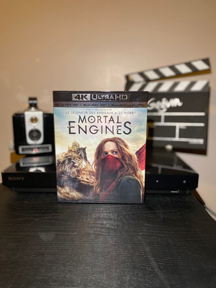 Test Blu-ray  4K : Mortal Engines
