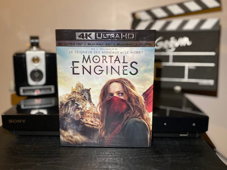 Test Blu-ray  4K : Mortal Engines