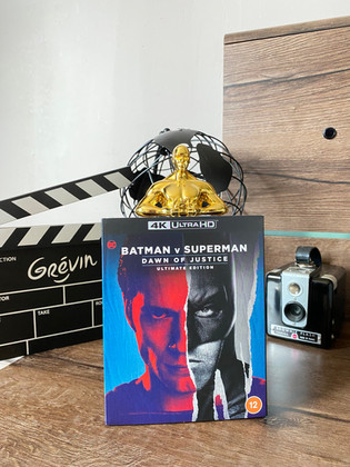Test Blu-ray 4K : Batman V Superman : L'Aube de la Justice