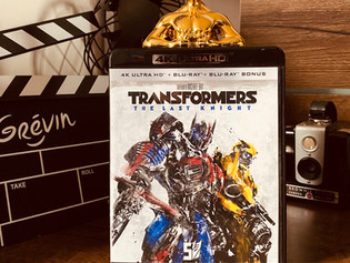 Test Blu-ray 4K : Transformers 5 : The Last Knight