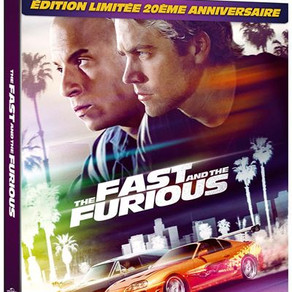 The Fast and The Furious Steelbook 4K