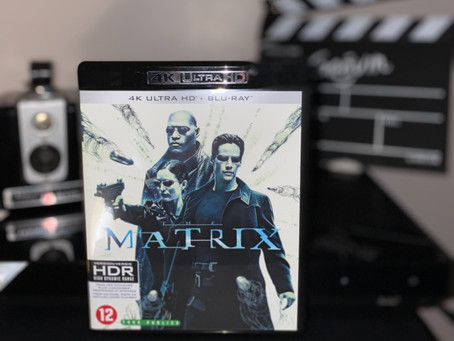 Test Blu-ray 4K : Matrix