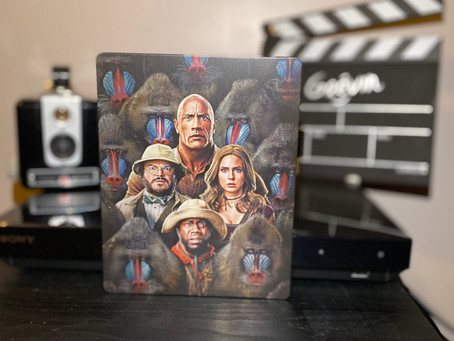 Test Blu-ray 4K : Jumanji: Next Level