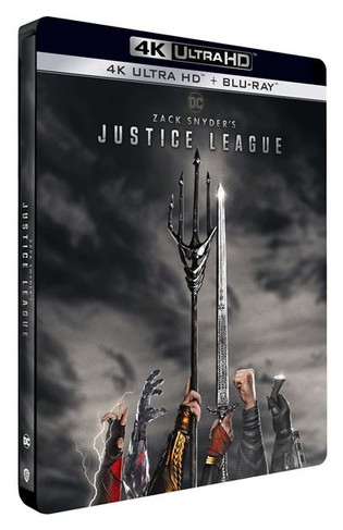Zack Snyder's Justice League - Steelbook 4K