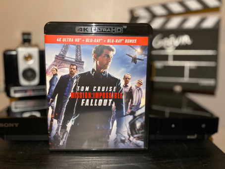 Test Blu-ray 4K : Mission: impossible - Fallout