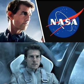 Officiel Tom Cruise dans l'espace