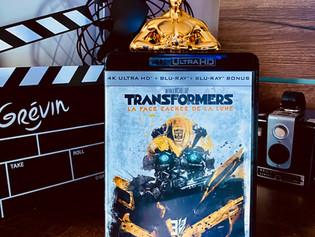 Test Blu-ray 4K : Tranformers 3 : La face cachée de la lune