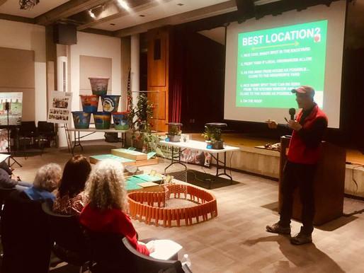 Plant A Row Seminar Held at Port Library
