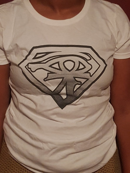 Super 3rd Eye Womens T-shirt